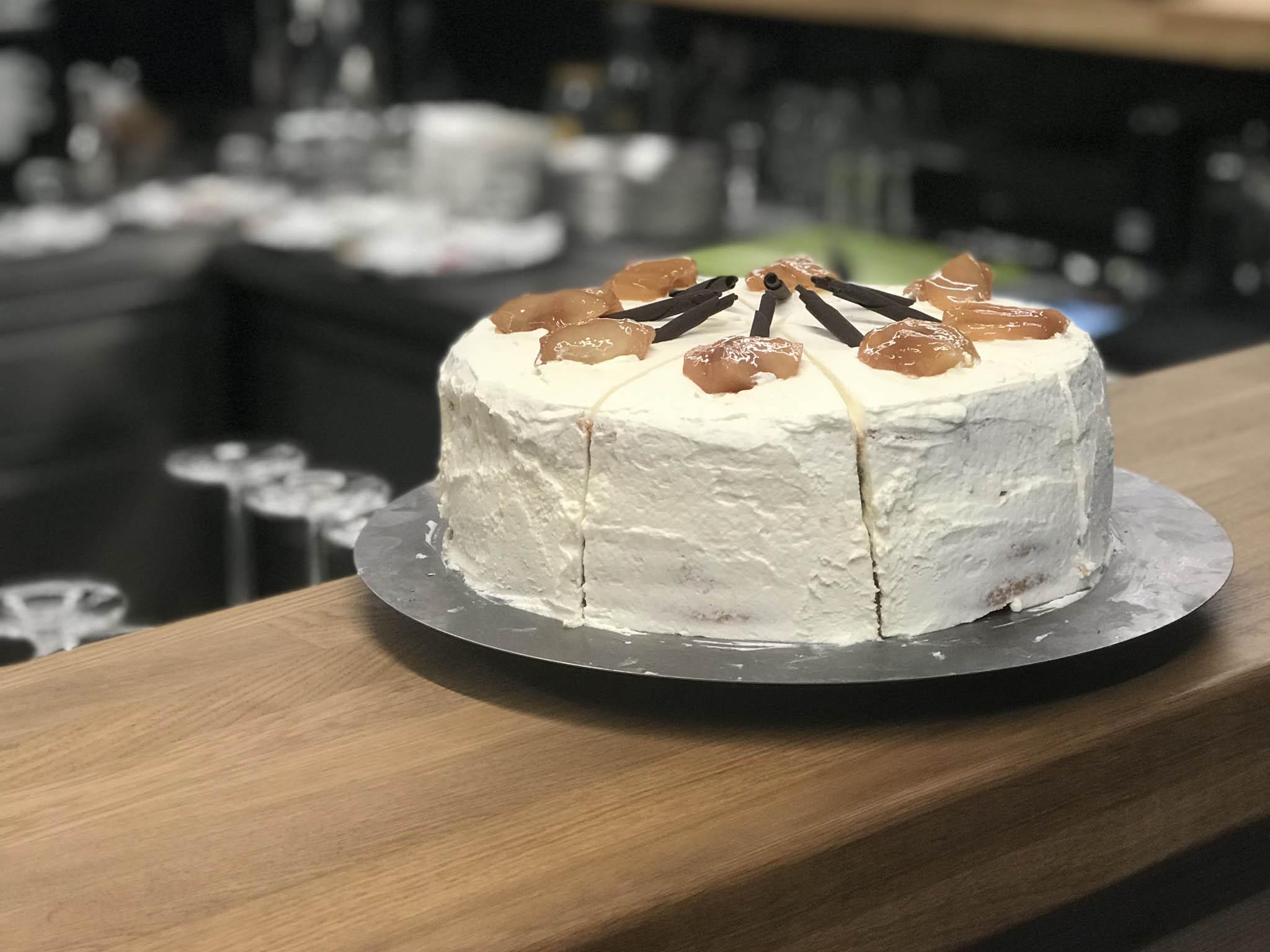 V kavárně Barley pečou každý den nový dort