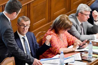 S úpravou zdanění technických rezerv počítá vládní daňový balíček, který je ve sněmovně ve třetím čtení - Ilustrační foto.