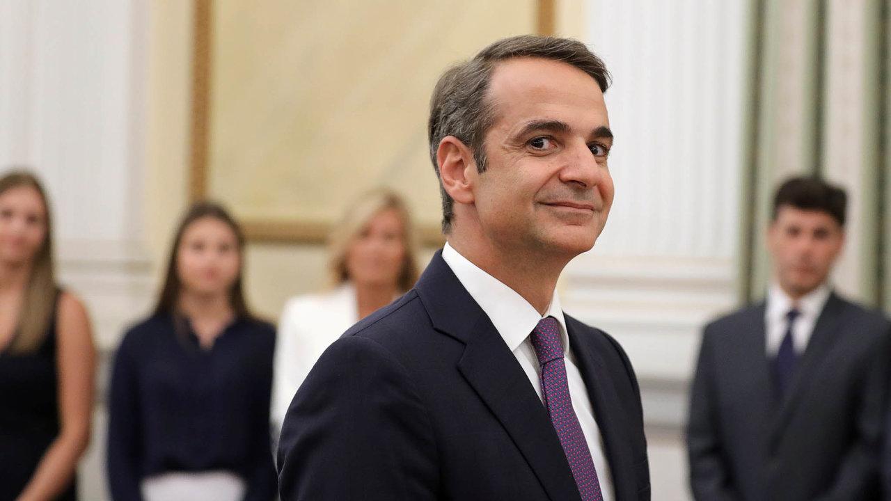 Analytická skupina Oxford Economics odhaduje, že řecká ekonomika se nasvoji předkrizovou úroveň dostane až vroce 2033. To chce nový premiér Kyriakos Mitsotakis změnit.