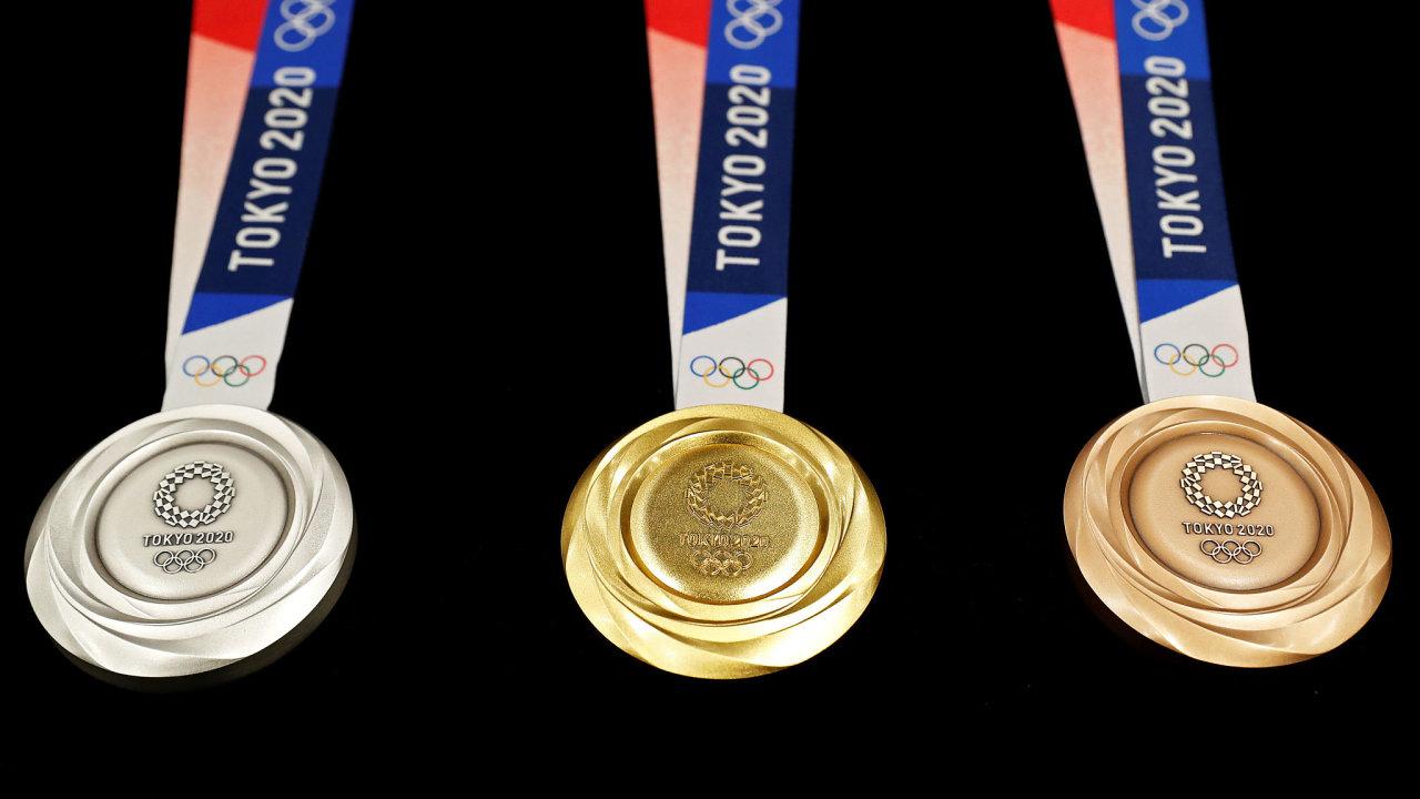 olympiáda Tokio 2020 medaile