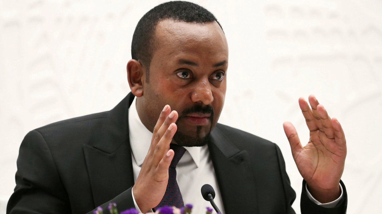 Etiopský premiér Abiy Ahmed.