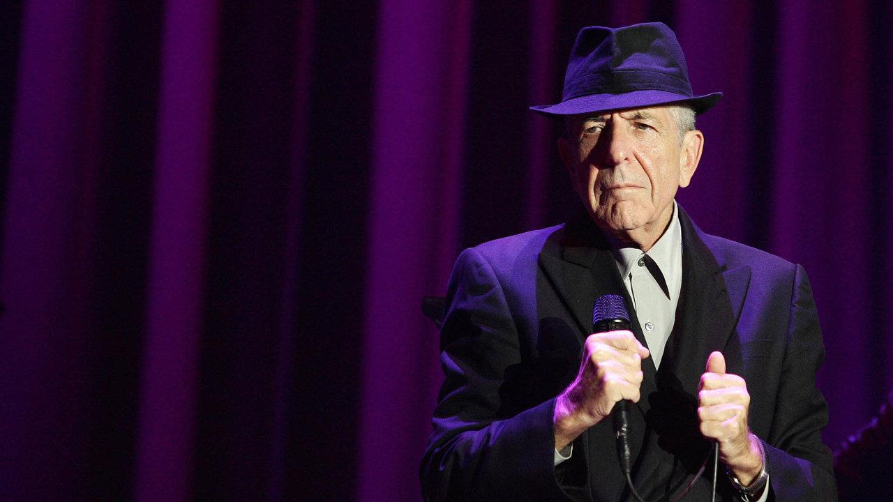 Leonard Cohen zemřel před třemi roky. Písně teprve nyní vydané nadesce Thanks for the Dance stihl natočit krátce předtím.