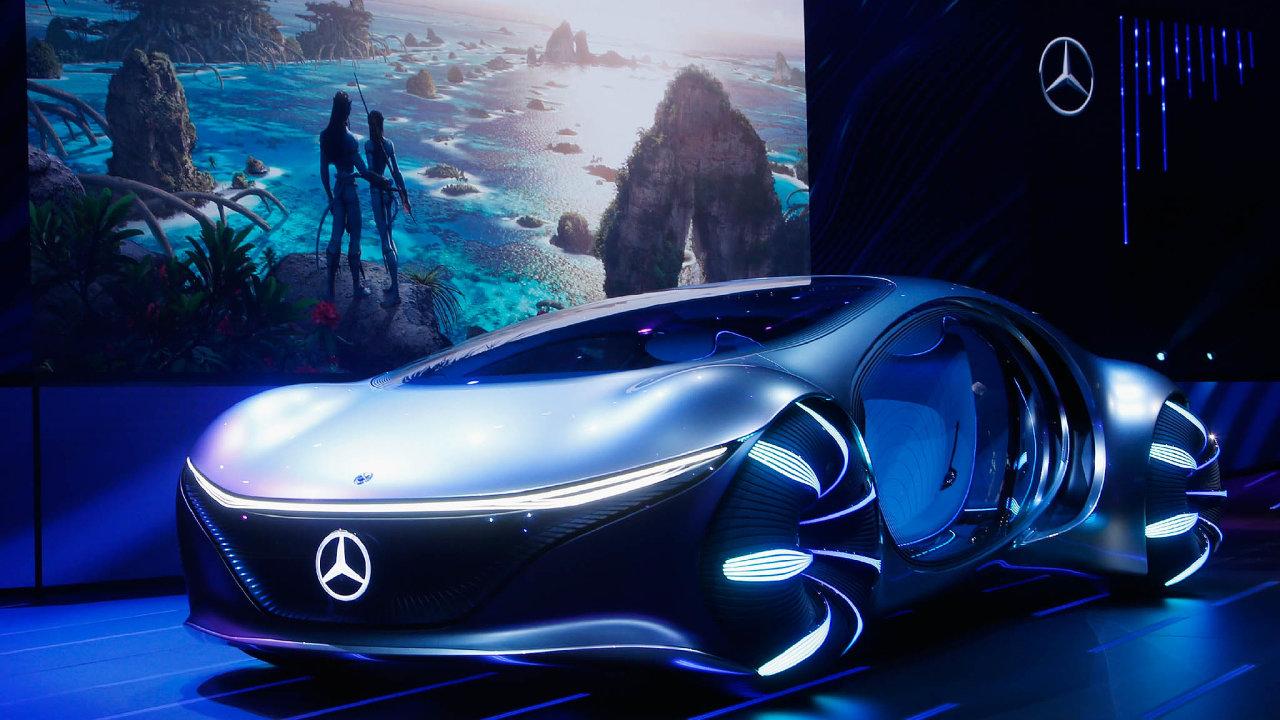 Daimler nedávno představil funkční koncept elektromobilu Mercedes-Benz Vision AVTR srevoluční grafenovo-organickou baterií, která údajně zvládá dobití zapouhých 15 minut.