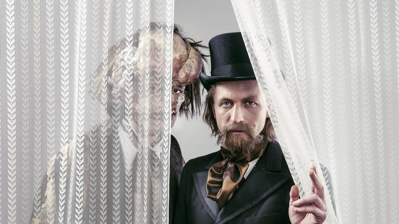 Hlavní roli v muzikálu Elefantazie zpívá Tomáš Klus.