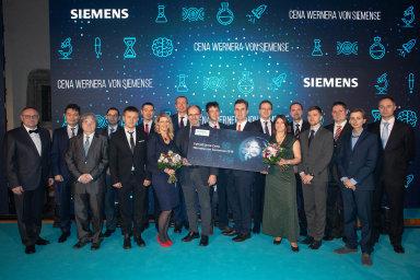 Nejlepší studenti, mladí vědci apedagogové získali Ceny Wernera von Siemense.
