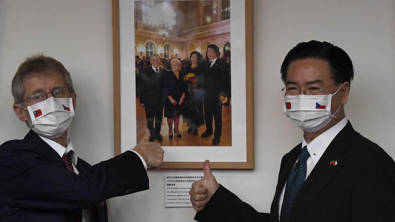Miloš Vystrčil na Tchaj-wanu ukázal jinou tvář české zahraniční politiky.