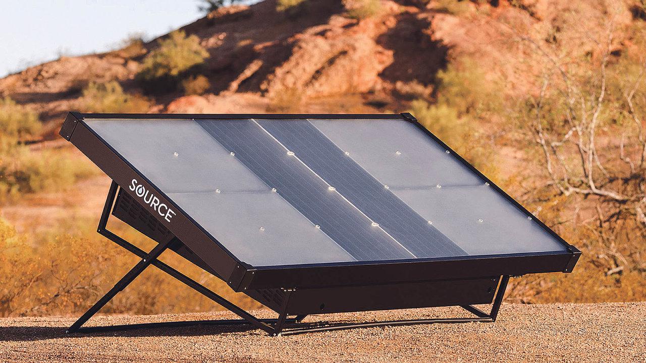 Hydropanely fungují napodobném principu jako solární panely. Zevzduchu vstřebávají vodní páru.