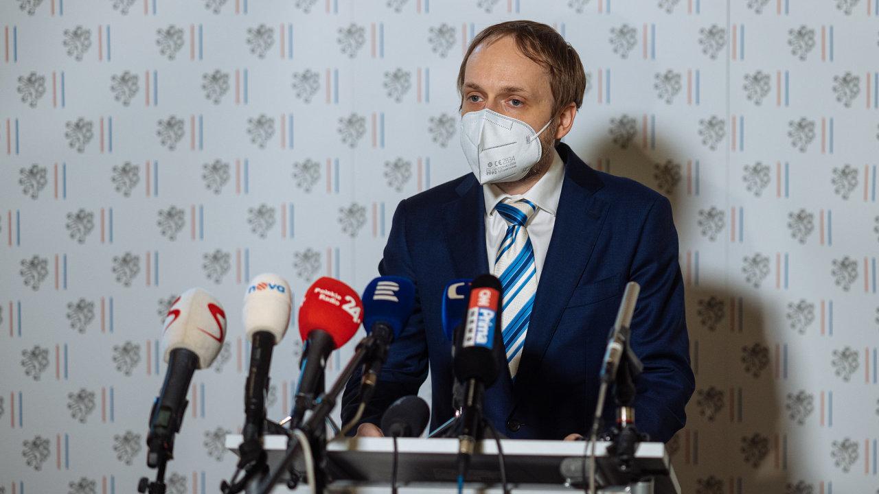 Jakub Kulhánek ministr zahraničí