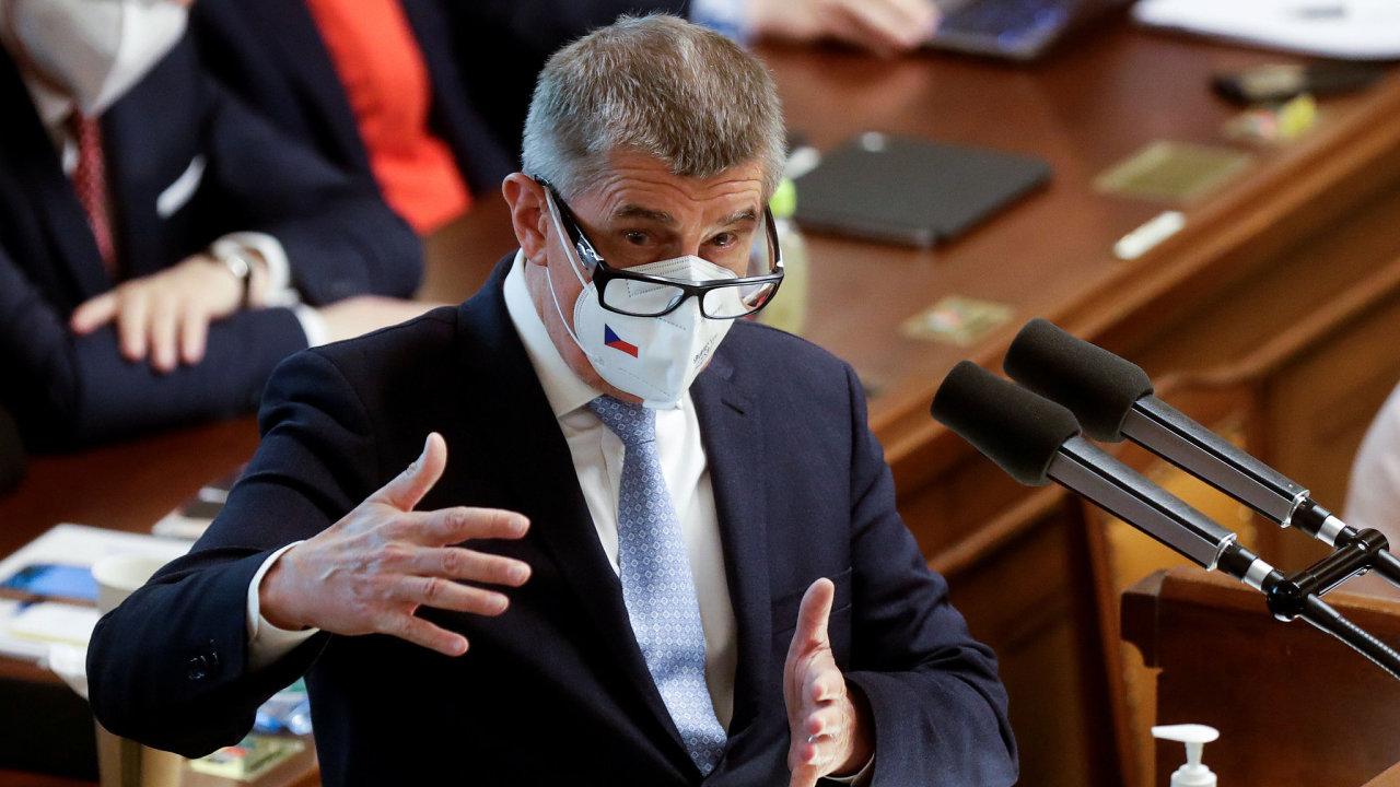hlasování o nedůvěře vládě, Andrej Babiš