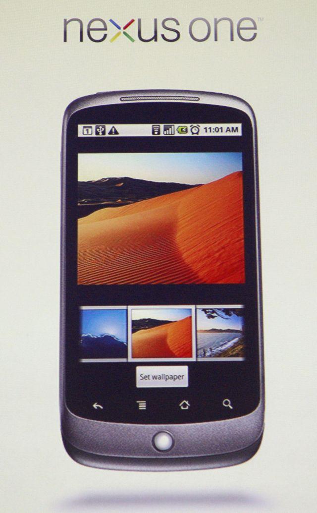 mobil Nexus One od Googlu