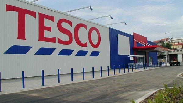 Prodejna Tesco