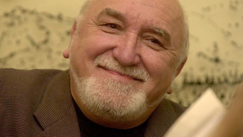 Karel Čáslavský na snímku z roku 2002