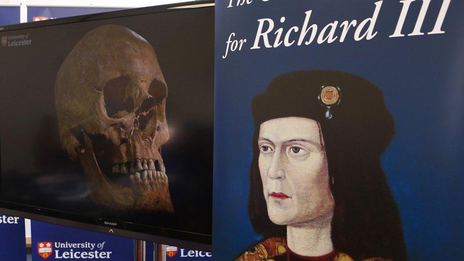 Pod parkovištěm ležela kostra krále Richarda III.