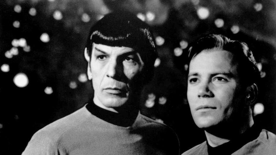 Star Trek: Spock a kapitán Kirk