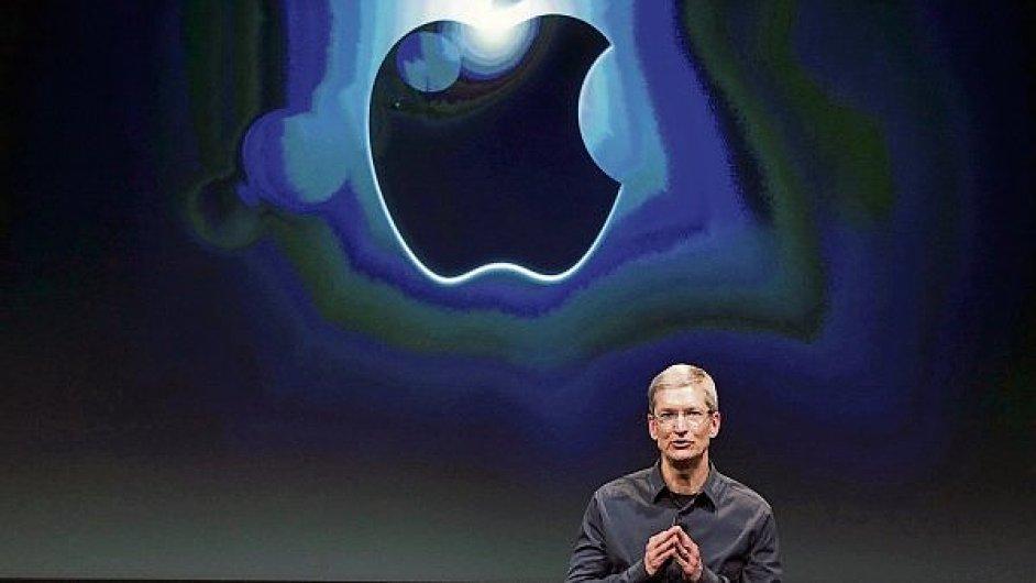 Generální ředitel společnosti Apple Tim Cook.