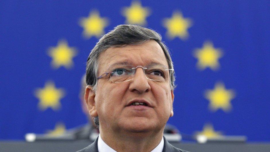 Předseda EK José Barroso