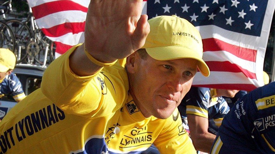 Lance Armstrong jako šampion