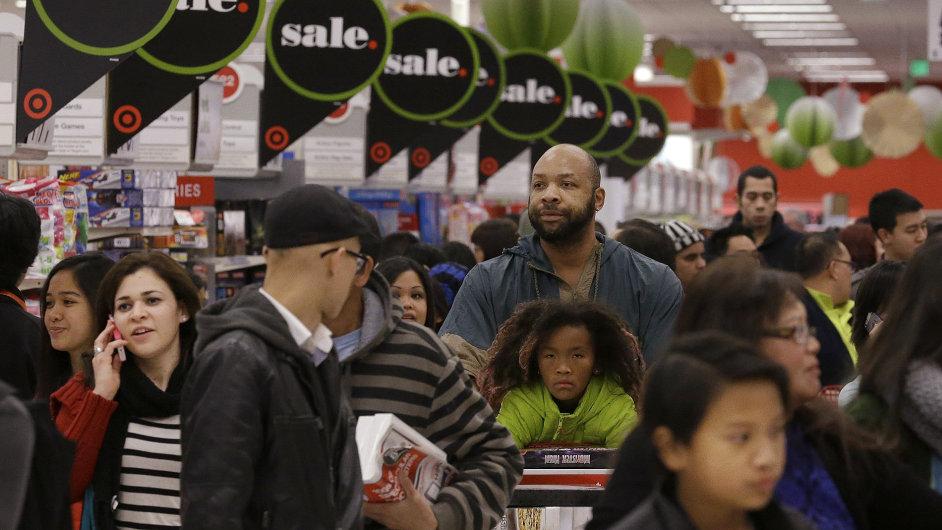 Lidé v americkém řetězci Target.