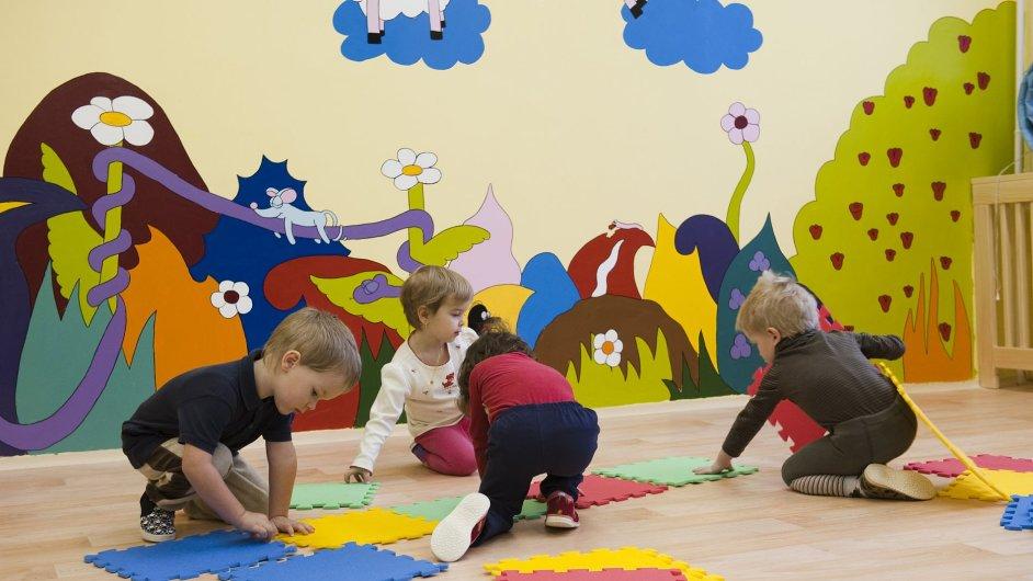 Předškolní péče napomáhá k lepší socializaci dítěte - Ilustrační foto.