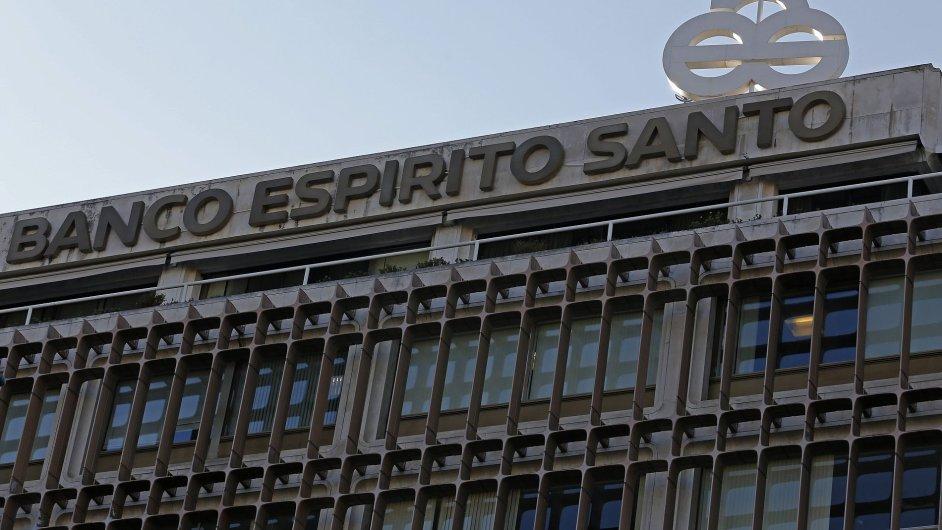 Portugalsko zachrání banku BES.