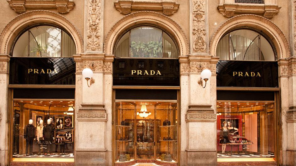 Butik Prada v Miláně