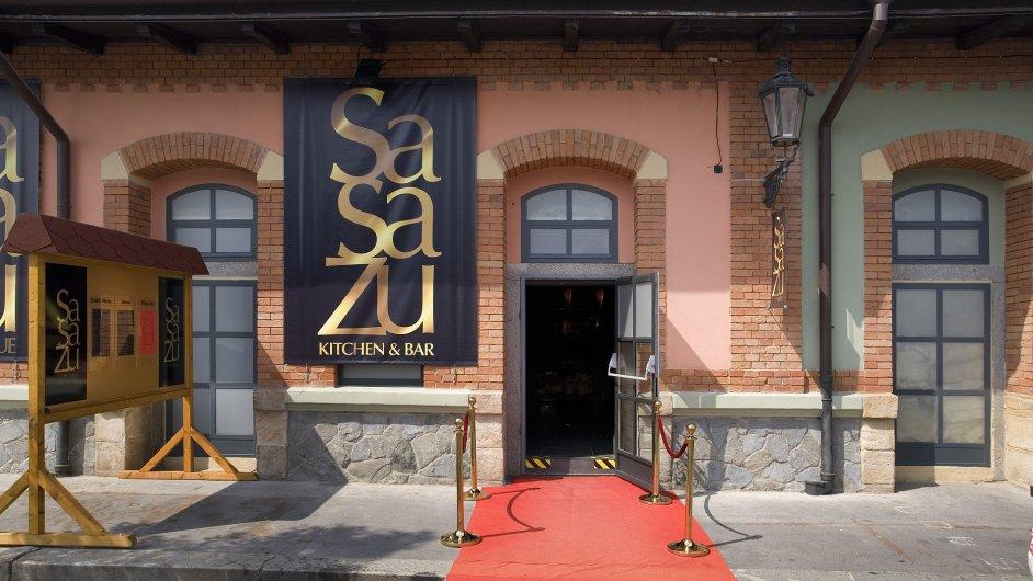 Restaurace SaSaZu v pražských Holešovicích
