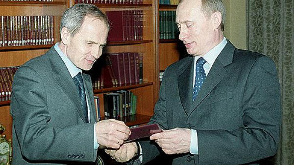 Zorkin s Putinem v roce 2003