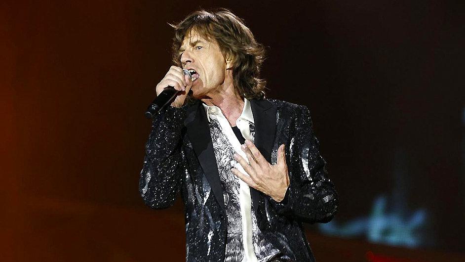 Zpěvák Mick Jagger s Rolling Stones začali australské turné 25. října.
