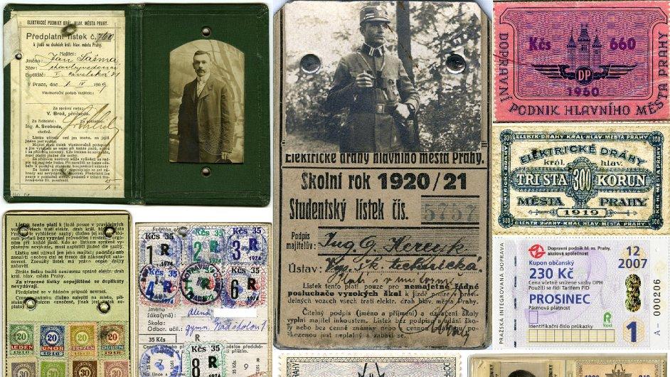 Předplatní jízdenky byly zavedeny v roce 1899. A existují dodnes.