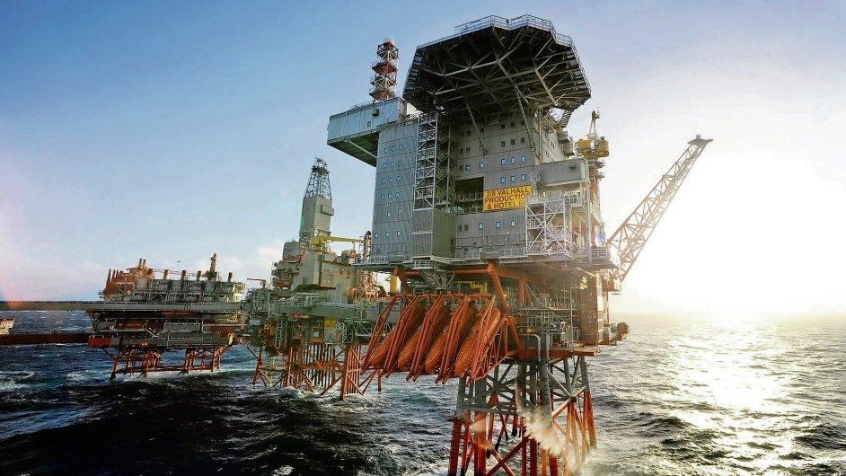 Na ropných plošinách