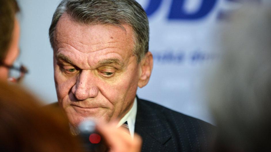Kandidát na primátora za ODS Bohuslav Svoboda.