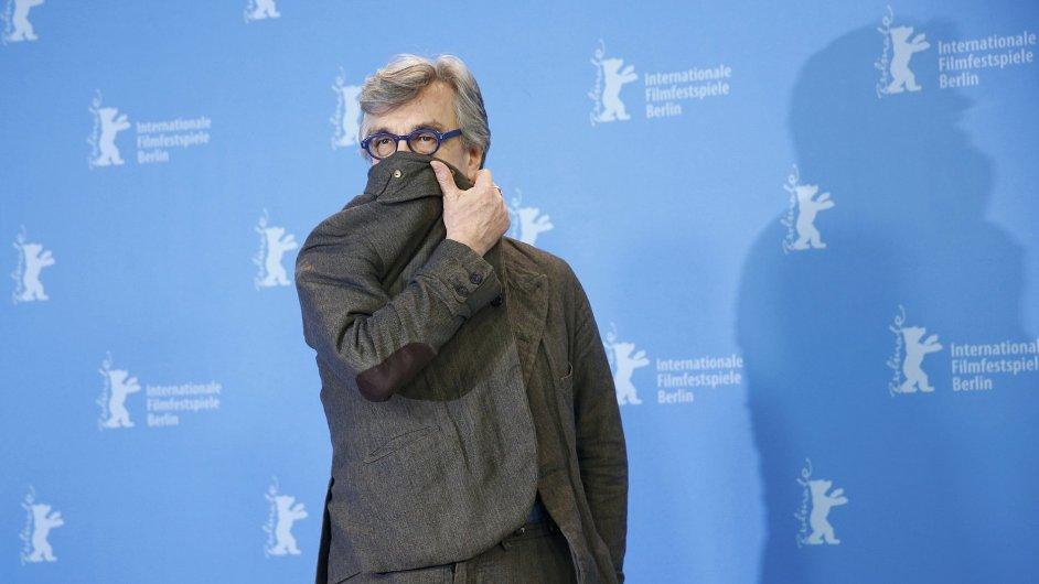 Režisér Wim Werners před premiérou filmu Every Thing Will Be Fine na Berlinale.
