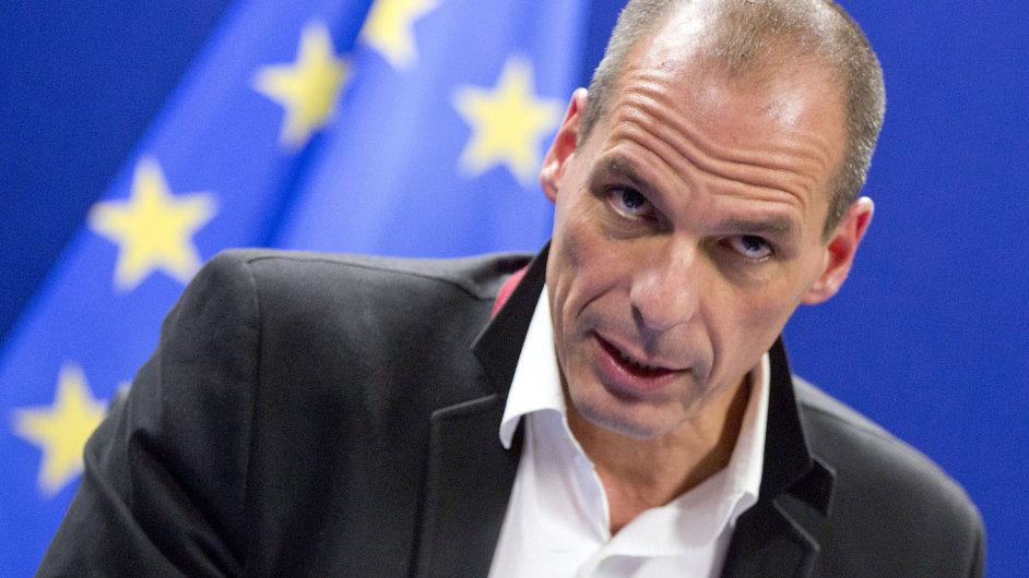 Řecký ministr financí Janis Varufakis.
