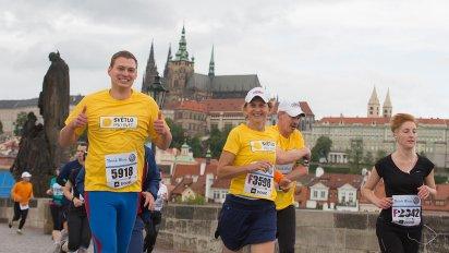 B�h historick�m centrem Prahy