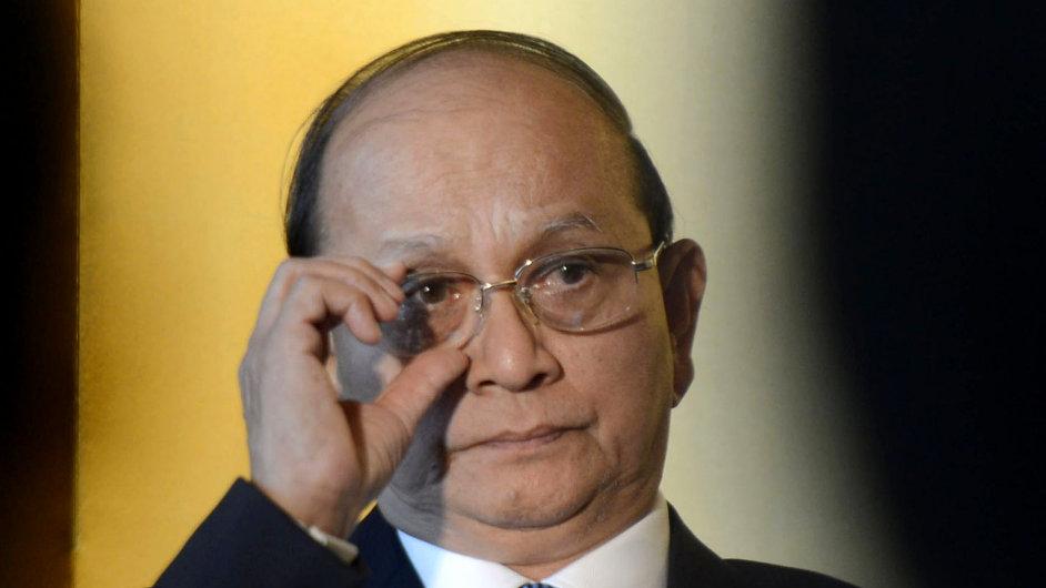 Barmský prezident Thein Sein