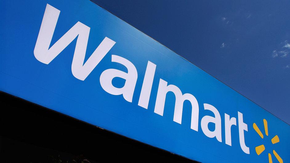Logo maloobchodního řetězce Wal-Mart Stores.