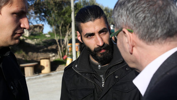 Dani, syrsk� uprchl�k z t�bora na Lesbosu