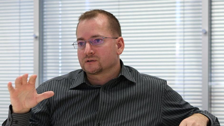 Regionální ředitel společnosti Fortinet pro oblast střední avýchodní Evropy Ondřej Šťáhlavský. Praha