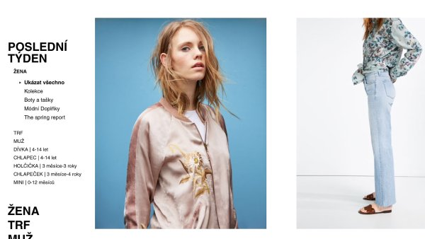 �esk� e-shop Zara