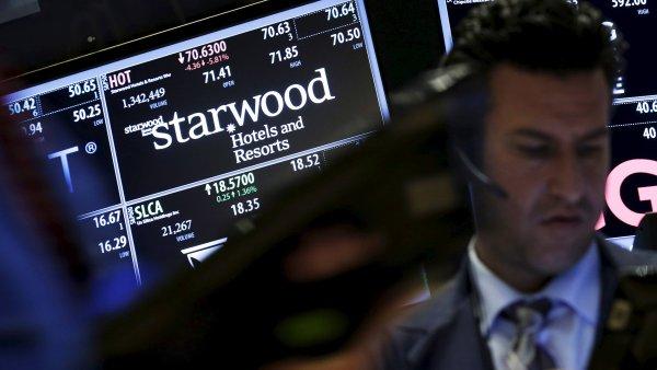 Čínská společnost Anbang má zájem o americký hotelový řetězec Starwood.
