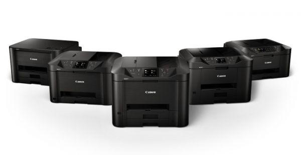 MAXIFY MB2150, MB2750, MB5150 a  MB5450 – spolu s jednoúčelovou tiskárnou MAXIFY iB4150.