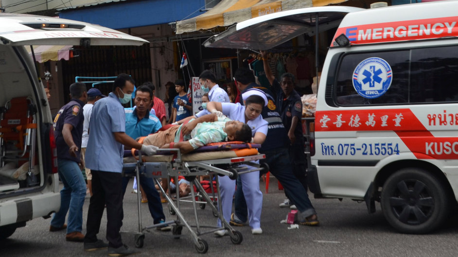 Útok v Thajsku