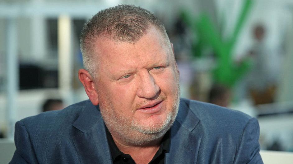Ivo Rittig. Podnikatel, který byl vroce 2015 obviněn zpraní špinavých peněz.