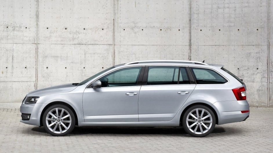 Škoda Octavia Combi je nejprodávanějším českým novým autem.