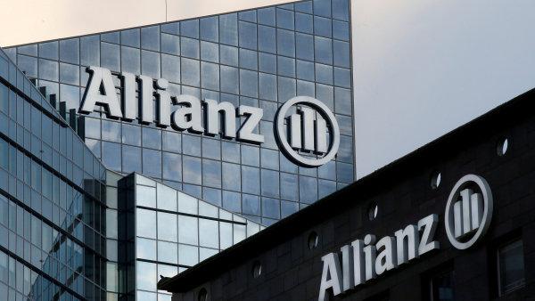 Pojišťovna Allianz zvýšila čistý zisk.