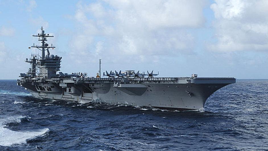 USS Carl Vinson (CVN 70), letadlová loď, Jihočínské moře