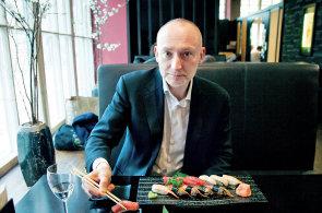 Odborník na korporátní vizuál Michal Richtr: V Japonsku jsem pět dní jedl jenom sushi