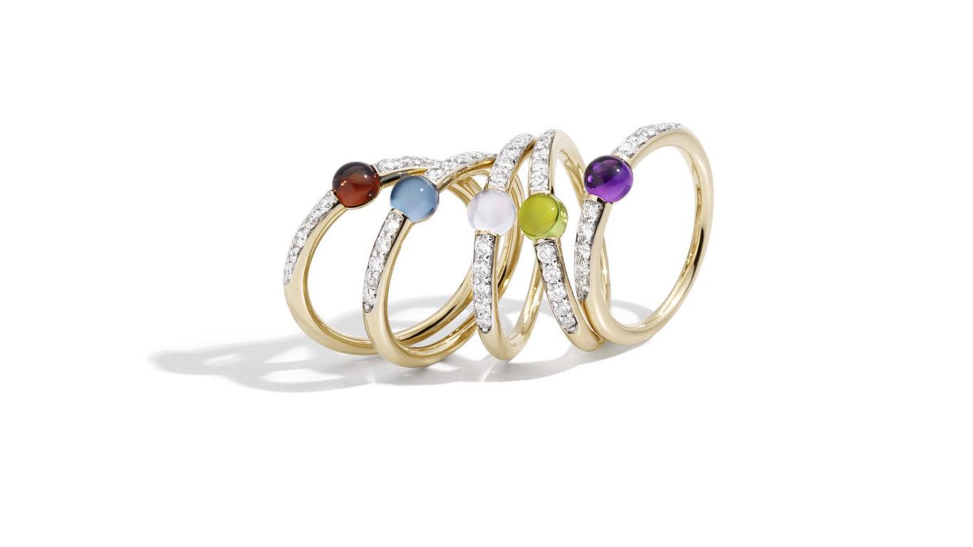 M AMA NON M AMA rings by Pomellato