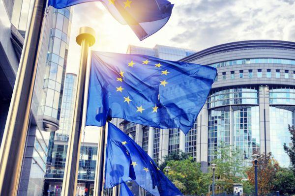 Evropská unie, EU, evropský parlament, vlajka, vlajky, Brusel