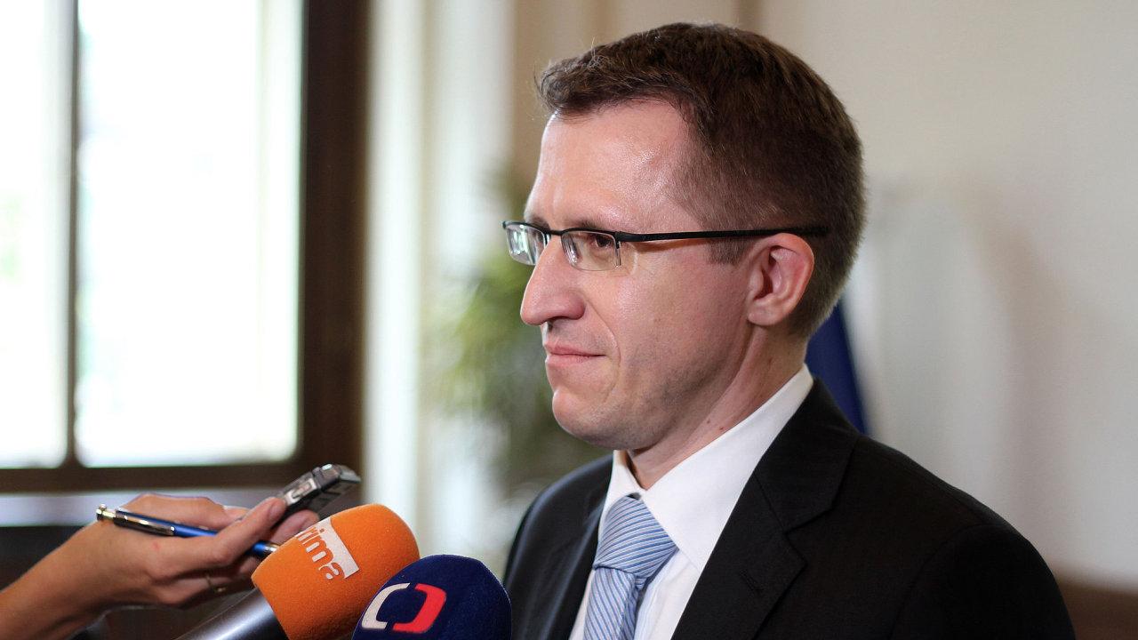 Náměstek ministerstva financí pro rozpočet Petr Pavelek